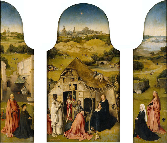 File:J. Bosch Adoration of the Magi Triptych.jpg