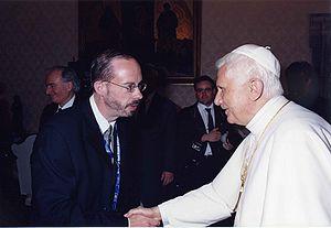 John L. Allen Jr. - Allen with Pope Benedict XVI