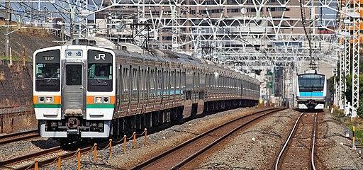 JNR 211 series EMU 021