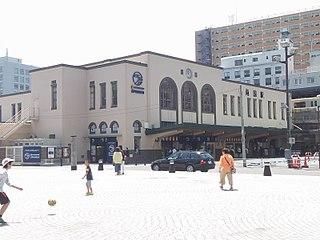 Ryōgoku Station Railway and metro station in Tokyo, Japan