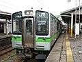 JRE E127 at Yoshida Station.jpg