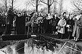 Jaarl Auschwitzherdenking op de Nieuwe Oosterbegraafplaa ts in Adam burgemeest, Bestanddeelnr 930-6415.jpg