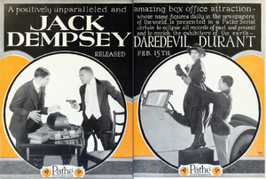 Daredevil Jack - Ad for film serial