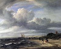 Jacob Isaacksz. van Ruisdael - The Shore at Egmond-an-Zee - WGA20500.jpg