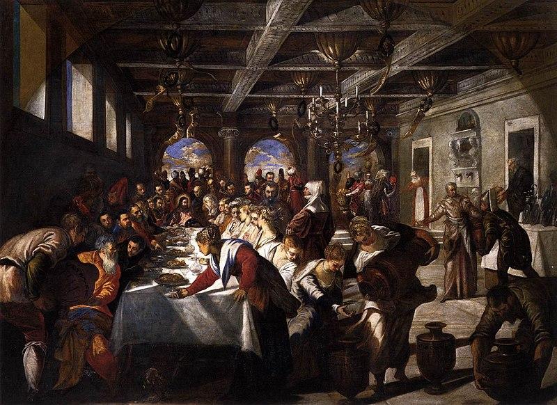 File:Jacopo Tintoretto - Marriage at Cana - WGA22470.jpg