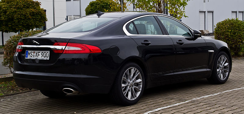 jaguar xf 2 2 d facelift heckansicht 5 oktober 2013 m. Black Bedroom Furniture Sets. Home Design Ideas