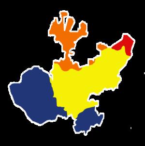 Español Mapa fisiográfico de Jalisco Región Si...
