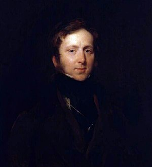 James Duffield Harding - Portrait of James Duffield Harding (c. 1840) by Henry Perronet Briggs