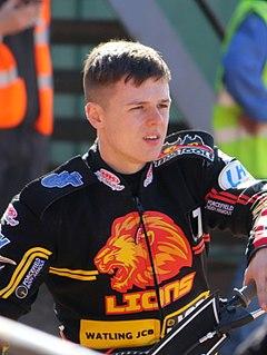 James Sarjeant British speedway rider