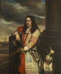 Portrait of Engel de Ruyter (1649-83), Vice-admiral and son of Michiel Adriaensz de Ruyter