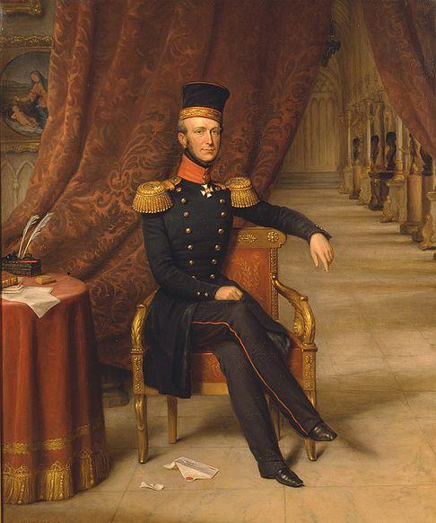 Archivo:Jan Baptist van der Hulst - Koning Willem II.jpg