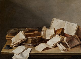 Still-Life of Books