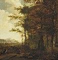 Jan Gabrielsz. Sonjé - Bosrand bij avond - 1814 (OK) - Museum Boijmans Van Beuningen.jpg