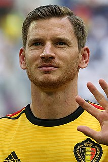 Jan Vertonghen Belgian association football player
