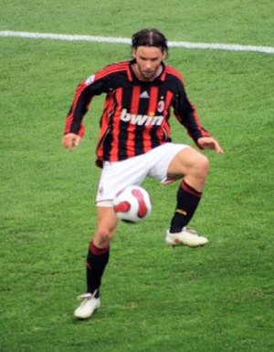 Marek Jankulovski - Jankulovski playing for Milan in 2007