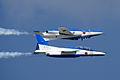 Japan air self defense force Kawasaki T-4 Blue Impulse RJST Calypso.JPG