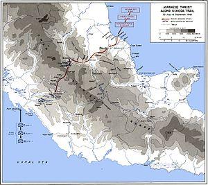 Kapa Kapa Trail - Japanese thrust along the Kokoda Trail 22 July - 16 September 1942