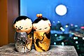 Japanese Wedding Love Doll with Sunset scene by Trisorn Triboon 02.jpg