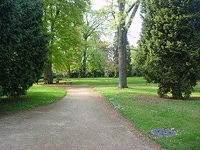 le jardin langlaise - Jardin Botanique Metz