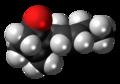 Jasmone molecule spacefill.png