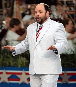 Jason Alexander tijdens een Fourth of July viering, 2006