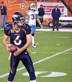 Denver Broncos - Broncos' quarterback Jay Cutler in 2007.