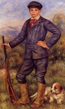 Jean Renoir as a Hunter 1910.jpg
