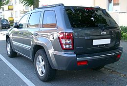 Jeep Grand Cherokee rear 20070518.jpg