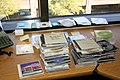 Jeez, I had piles of CDs stuffed into drawers. Here I am trying to categorize, toss, organize, and see what needs to be archived to a spare hard drive. (117804735).jpg