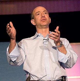 Jeff Bezos - Jeff Bezos in 2005.