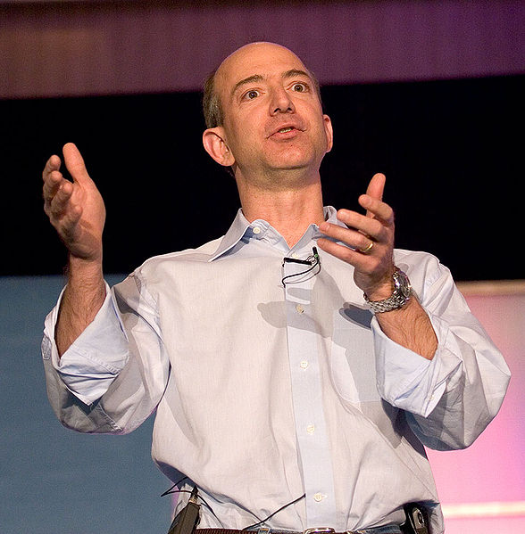 Amazon.com's Jeff Bezos