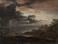 Jens Juel - Tordenregn nedstyrtende i havet - KMS6269 - Statens Museum for Kunst.jpg