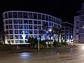 Jersey International Finance Centre at night.jpg