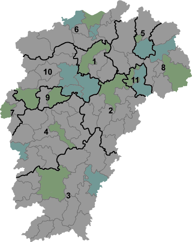 Jiangxi prfc map