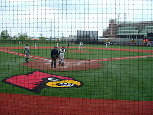 Louisville Cardinals baseball - Jim Patterson Stadium in 2007.
