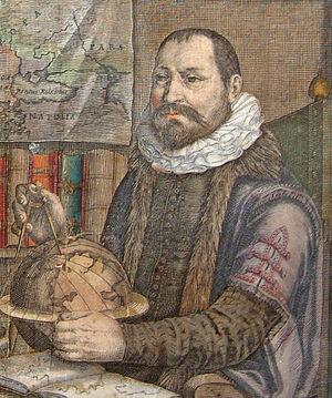 Jodocus Hondius - Jodocus Hondius on a 1619 engraving
