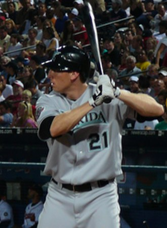 Joe Borchard - Borchard with the Florida Marlins