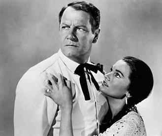 Gloria Talbott - Joel McCrea and Gloria Talbott in The Oklahoman (1957)