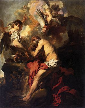Johann Liss - Image: Johann Liss The Vision of St Jerome WGA13332