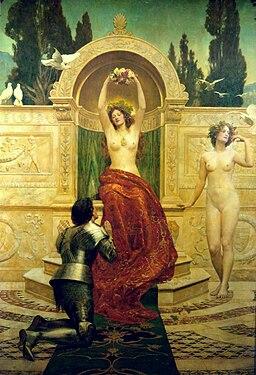 John Collier - Venusberg Scene from Tannhäuser