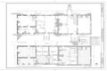 John Dickinson Mansion, Kitts Hummock Road, off State Road 68, 0.3 mile east of intersection with State Route 113, Dover, Kent County, DE HABS DEL,1-DOV.V,1- (sheet 1 of 5).png