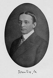 John Fox, Jr., in the frontispiece of a 1911 New York publication of Crittenden