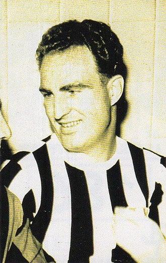 John Hansen (footballer, born 1924) - Hansen with Juventus F.C.
