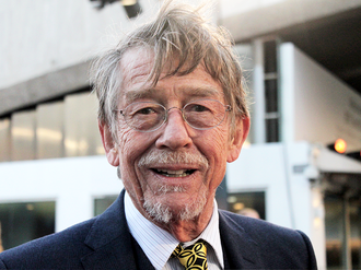 John Hurt - Hurt at the London premiere of Tinker Tailor Soldier Spy, 2011