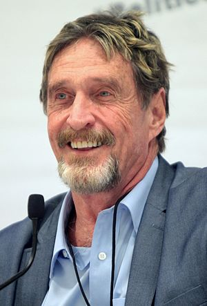John McAfee - McAfee at Politicon in June 2016