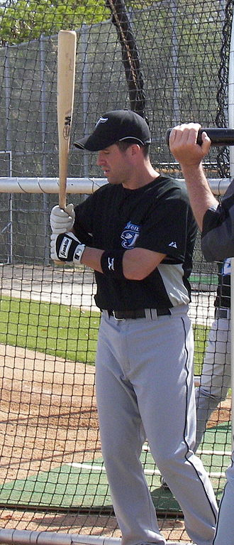 John McDonald (infielder) - McDonald during his tenure with the Toronto Blue Jays in 2007 spring training
