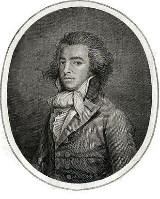 John Meares - Lieutenant John Meares. From an engraving after the picture by W. Beechey in Meares' Voyages.