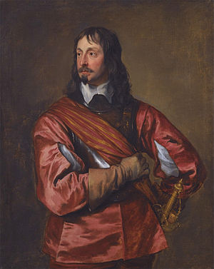 John Mennes - Portrait of Mennes by Anthony van Dyck.