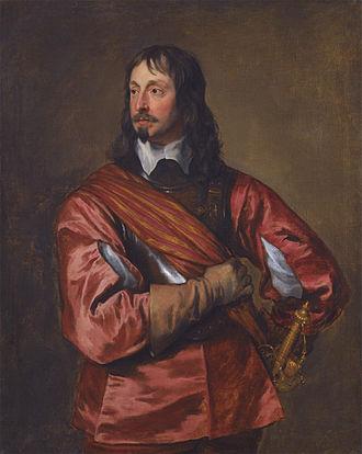 John Mennes - Portrait of Mennes by Anthony van Dyck.