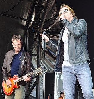 Johnny Hates Jazz - Johnny Hates Jazz performing in June 2014.